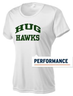 Hug High School Hawks Women's Competitor Performance T-Shirt