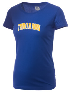 Truman Moon Elementary School Rockets  Russell Women's Campus T-Shirt