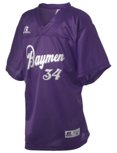 Hampton Bays Secondary School Baymen Russell Kid's Replica Football Jersey