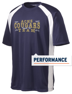 Alexander Central High School Cougars Men's Dry Zone Colorblock T-Shirt