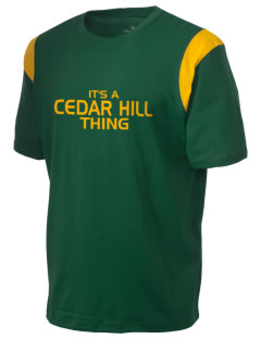 Cedar Hill Elementary School Eagles Holloway Men's Rush T-Shirt