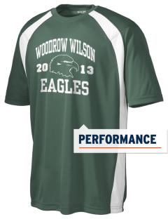 Woodrow Wilson Elementary School Eagles Men's Dry Zone Colorblock T-Shirt