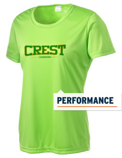 Crest High School Chargers Women's Competitor Performance T-Shirt