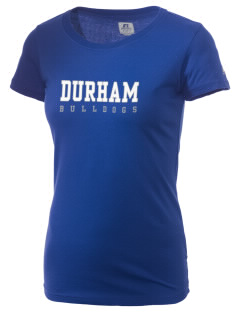 Durham School Bulldogs  Russell Women's Campus T-Shirt