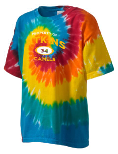 Atkins Middle School Camels Kid's Tie-Dye T-Shirt