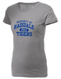 Ragsdale High School Tigers  Russell Women's Campus T-Shirt