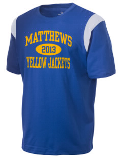 Matthews Elementary School Yellow Jackets Holloway Men's Rush T-Shirt