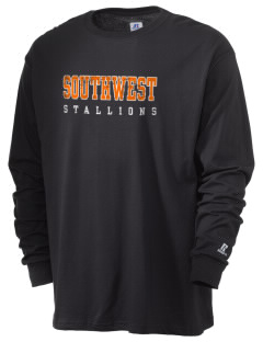 Southwest High School Stallions  Russell Men's Long Sleeve T-Shirt
