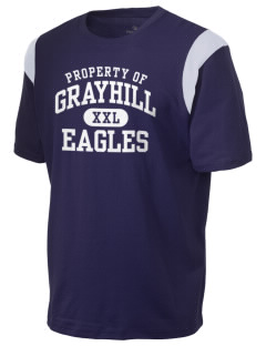 Grayhill Elementary School Eagles Holloway Men's Rush T-Shirt