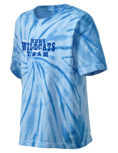 Hilliard Davidson High School Wildcats Kid's Tie-Dye T-Shirt