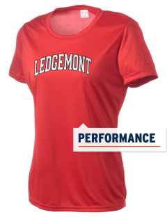 Ledgemont High School Redskins Women's Competitor Performance T-Shirt
