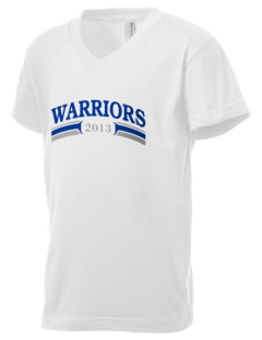 Buckeye Trail High School Warriors Kid's V-Neck Jersey T-Shirt