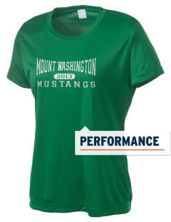 Mount Washington Elementary School Mustangs Women's Competitor Performance T-Shirt