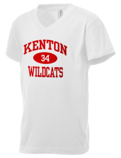 Kenton High School Wildcats Kid's V-Neck Jersey T-Shirt
