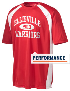 Ellisville Elementary School Warriors Men's Dry Zone Colorblock T-Shirt