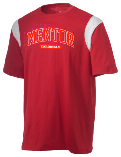 Mentor High School Cardinals Holloway Men's Rush T-Shirt