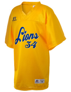 Leverette Junior High School Lions Russell Kid's Replica Football Jersey