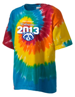 Dunbar High School Wolverines Kid's Tie-Dye T-Shirt