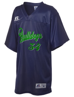McKinley Elementary School Bulldogs Russell Kid's Replica Football Jersey