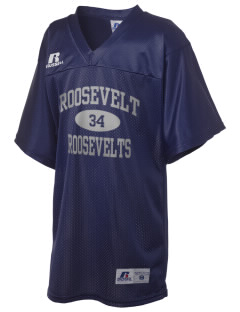 Roosevelt Junior High School Roosevelts Russell Kid's Replica Football Jersey