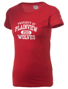 Plainview Elementary School Wolves  Russell Women's Campus T-Shirt