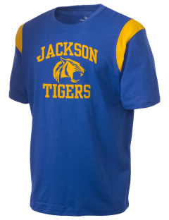 Jackson Elementary School Tigers Holloway Men's Rush T-Shirt
