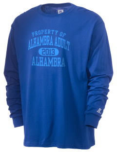 Alhambra Adult School Alhambra  Russell Men's Long Sleeve T-Shirt