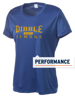 Dibble Senior High School Demons Women's Competitor Performance T-Shirt