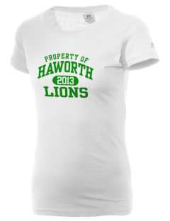 Haworth High School Lions  Russell Women's Campus T-Shirt