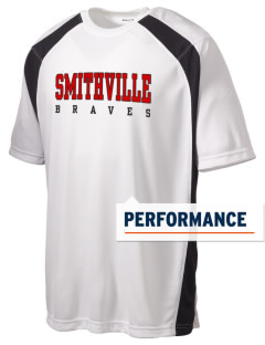 Smithville Elementary School Braves Men's Dry Zone Colorblock T-Shirt