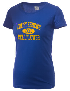 Christ Heritage Academy Bellflower  Russell Women's Campus T-Shirt
