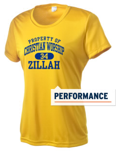 Christian Worship Center Zillah Women's Competitor Performance T-Shirt