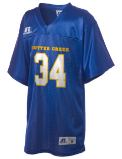 Sutter Creek Primary School Sutter Creek Russell Kid's Replica Football Jersey