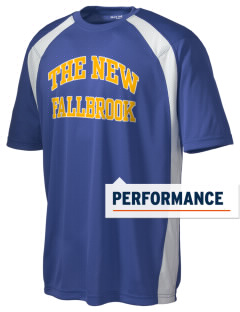 The New School Fallbrook Men's Dry Zone Colorblock T-Shirt