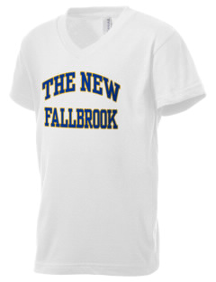 The New School Fallbrook Kid's V-Neck Jersey T-Shirt