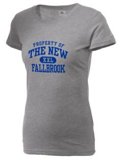 The New School Fallbrook  Russell Women's Campus T-Shirt