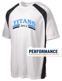 Hercules MiddleHigh School Titans Men's Dry Zone Colorblock T-Shirt