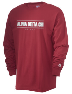 Alpha Delta Chi  Russell Men's Long Sleeve T-Shirt