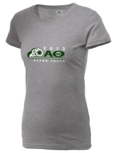 Alpha Theta  Russell Women's Campus T-Shirt