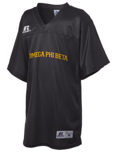 Omega Phi Beta Russell Kid's Replica Football Jersey