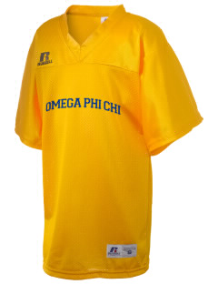 Omega Phi Chi Russell Kid's Replica Football Jersey
