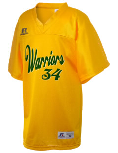 Western Oaks Elementary School Warriors Russell Kid's Replica Football Jersey