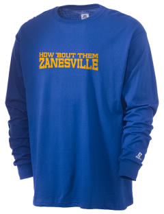 Holy Trinity Parish Zanesville  Russell Men's Long Sleeve T-Shirt