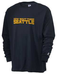 Immaculate Conception Parish Seattle  Russell Men's Long Sleeve T-Shirt