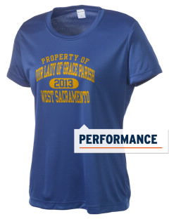 Our Lady of Grace Parish West Sacramento Women's Competitor Performance T-Shirt