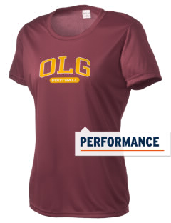 Our Lady of Guadalupe School OLG Women's Competitor Performance T-Shirt