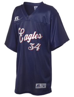 Liberty Elementary School Eagles Russell Kid's Replica Football Jersey