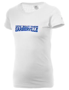 Our Lady of The Redwoods Parish Garberville  Russell Women's Campus T-Shirt
