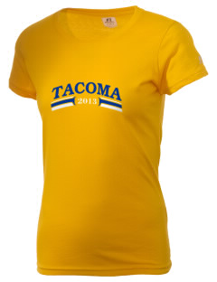 Our Lady Queen of Heaven Parish Tacoma  Russell Women's Campus T-Shirt