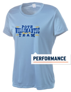 Protection of The BVM Parish Willimantic Women's Competitor Performance T-Shirt